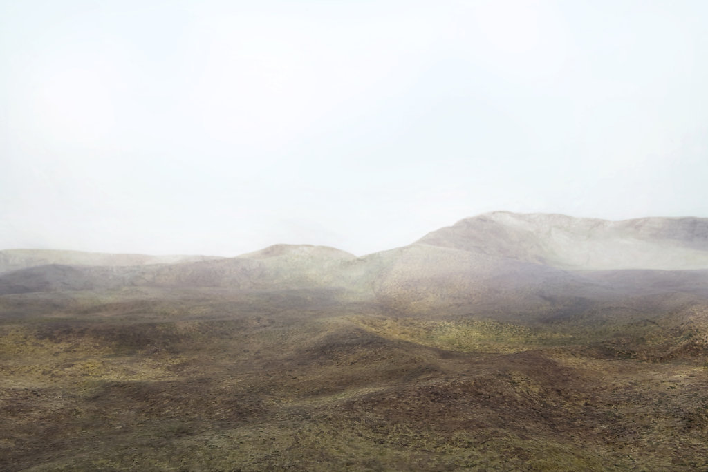 Land Cycle #02, 70x105 cm, stampa su carta fotografica e vetro acrilico, 2012
