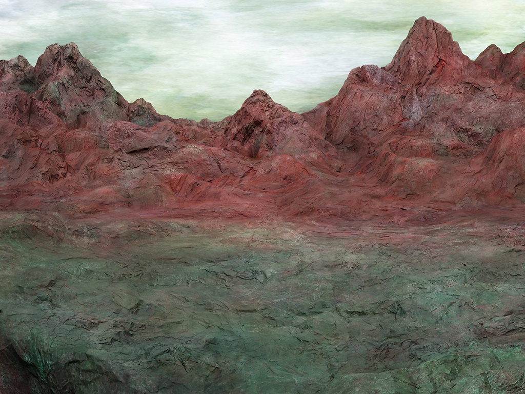 L'Origine dell'Anima, 80 x 100 cm, digital print, acrylic glass, 2017.